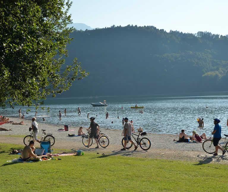 Vacanze estive al Lago di Levico hotel 3 stelle valsugana in trentino